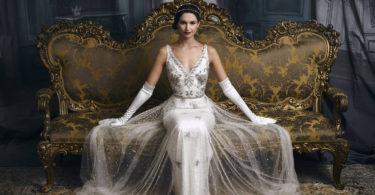 платье невесты модель 2018 года с кружевами
