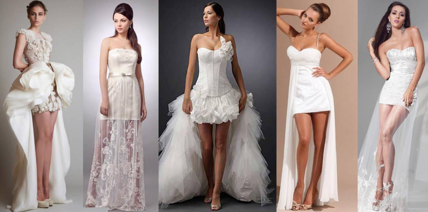 платье для невест мода 2018