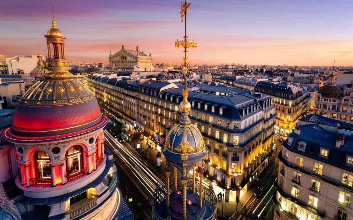 10самых увлекательных городов для туристов Париж