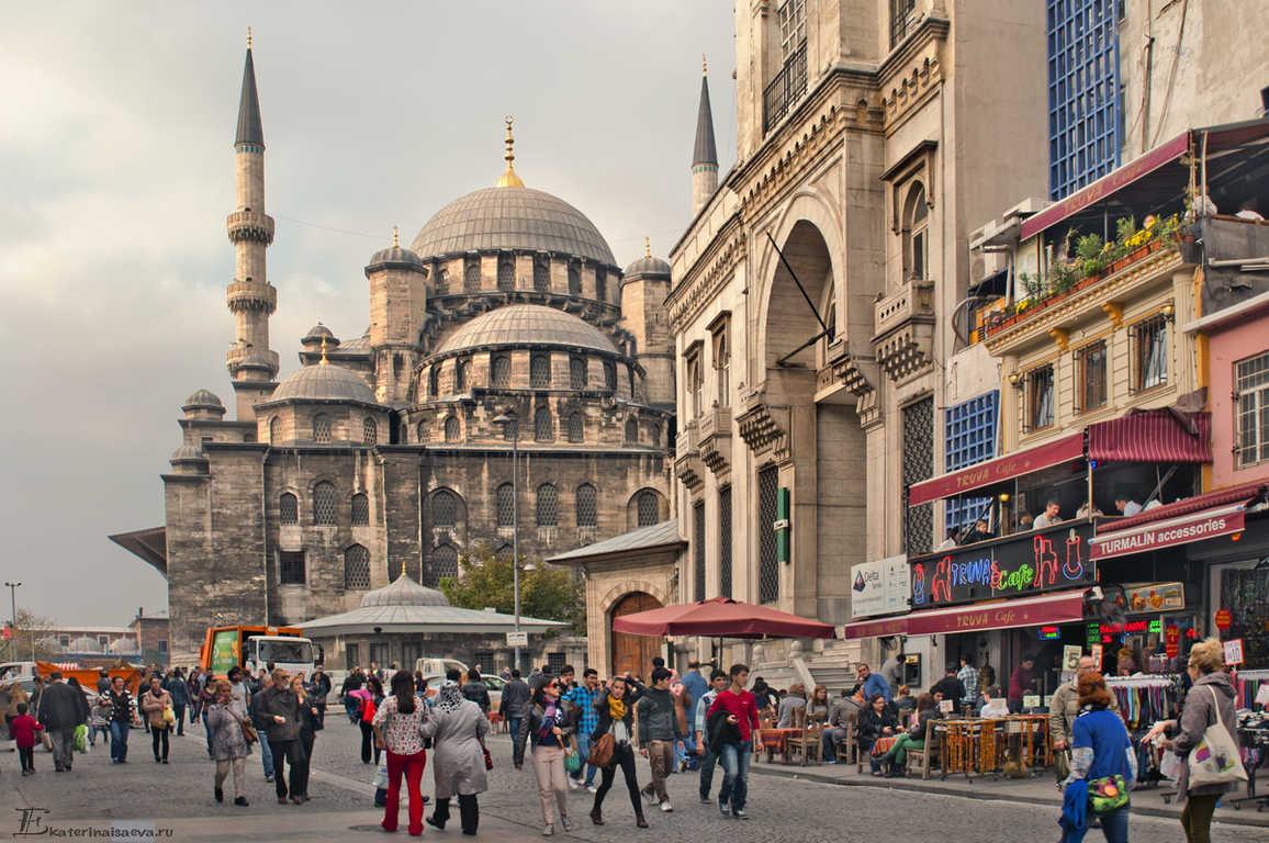 10самых увлекательных городов для туристов Стамбул
