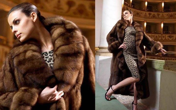 Модные брендовые шубы