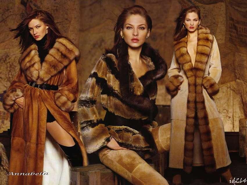 Модные брендовые шубы Antonio Didone