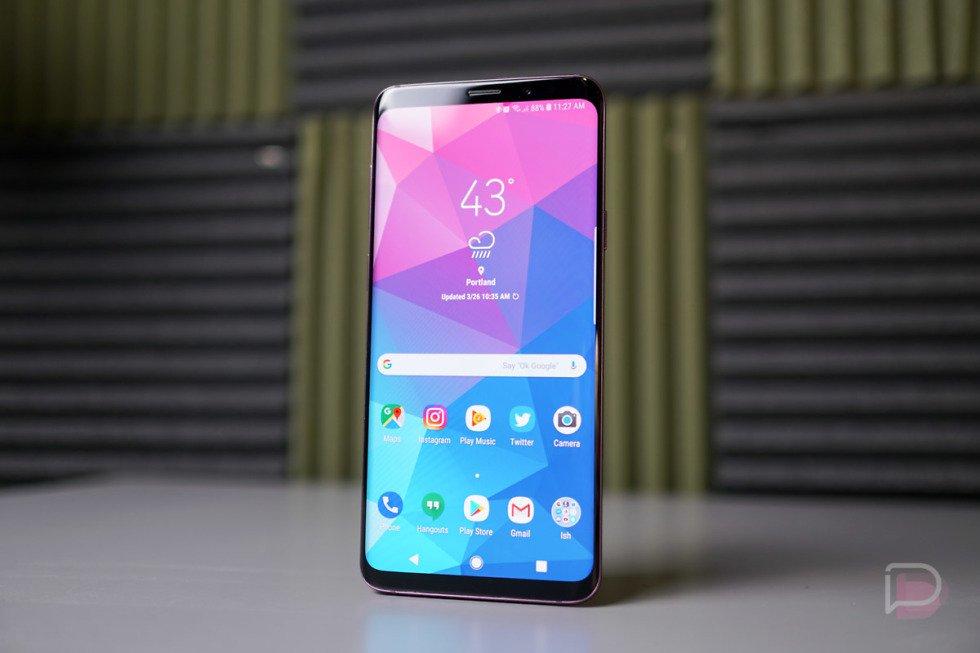 Лучшие смартфоны 2018 года SamsungGalaxy S9