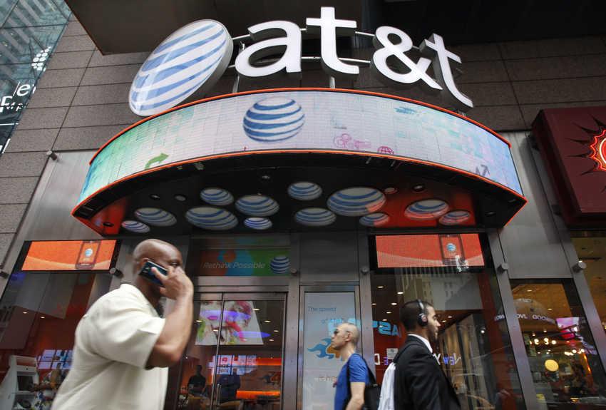 Стоимость самых крупных компаний мира  AT&T (стоимость 217,1 млрд $)