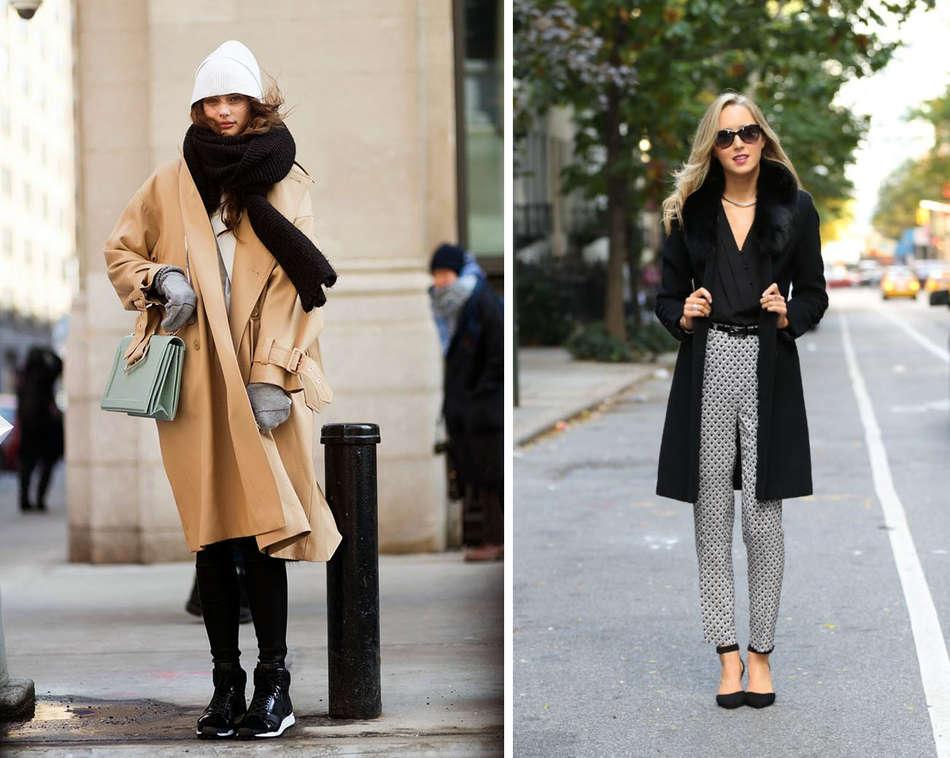 Модные женские пальто 2018