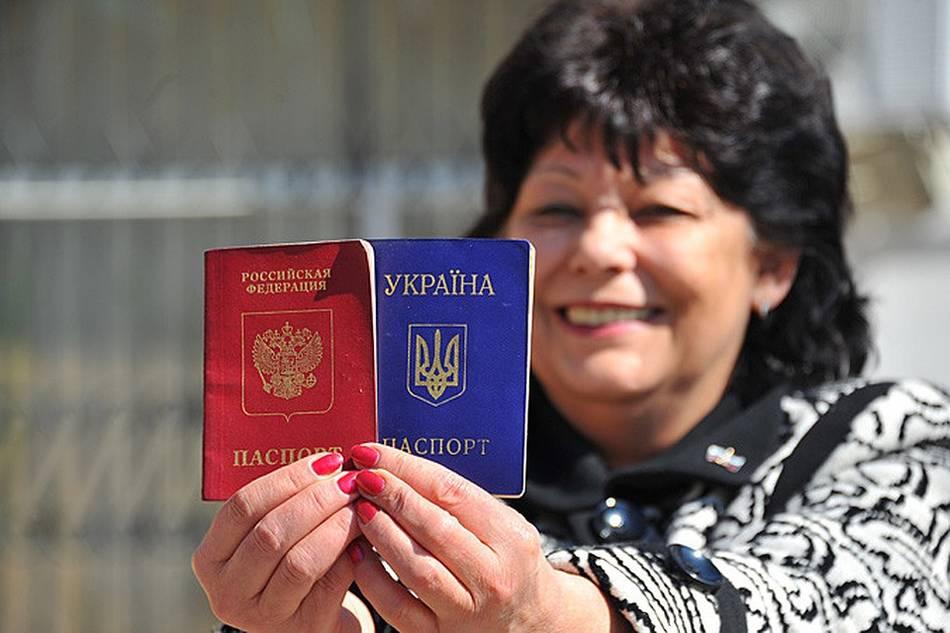 Российский паспорт под запретом