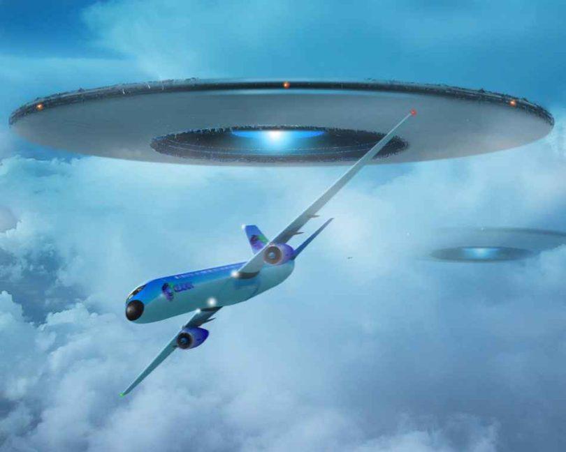 Британские пилоты видели НЛО