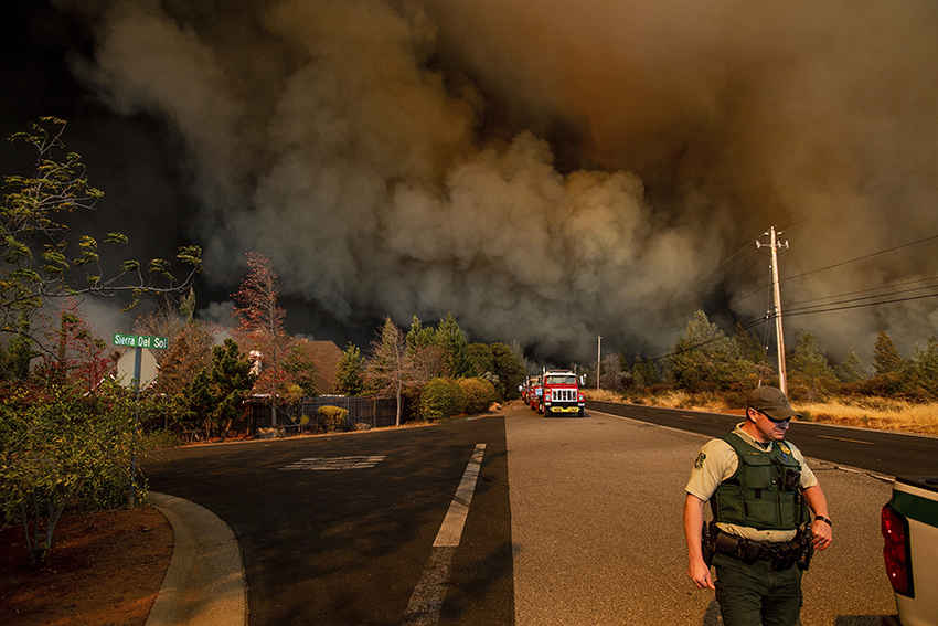 Как мир отреагировал на пожар в Калифорнии