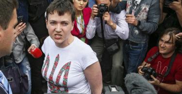 Надежда Савченко собралась в президенты