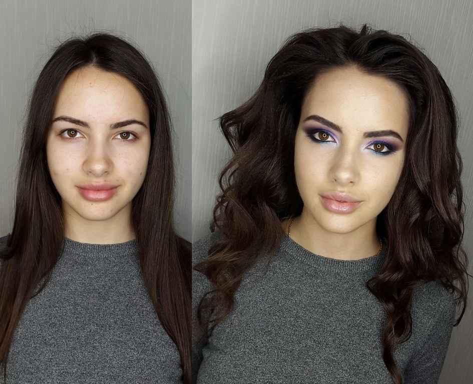 Искусство макияжа женщины