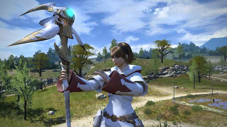Лучшая интернет игра Final Fantasy XIV
