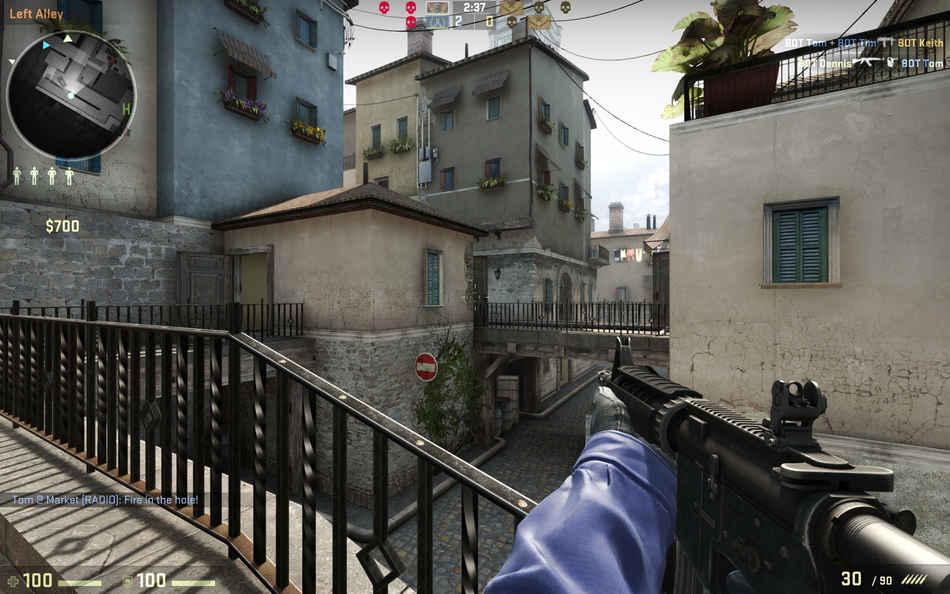Популярная игра Counter-Strike: Global Offensive