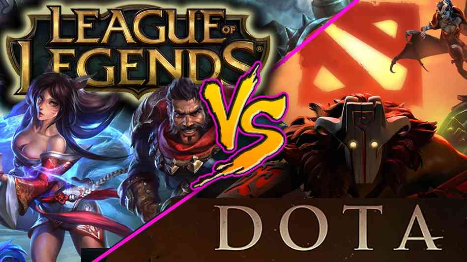 Лучшая онлайн игра League of Legends и Dota