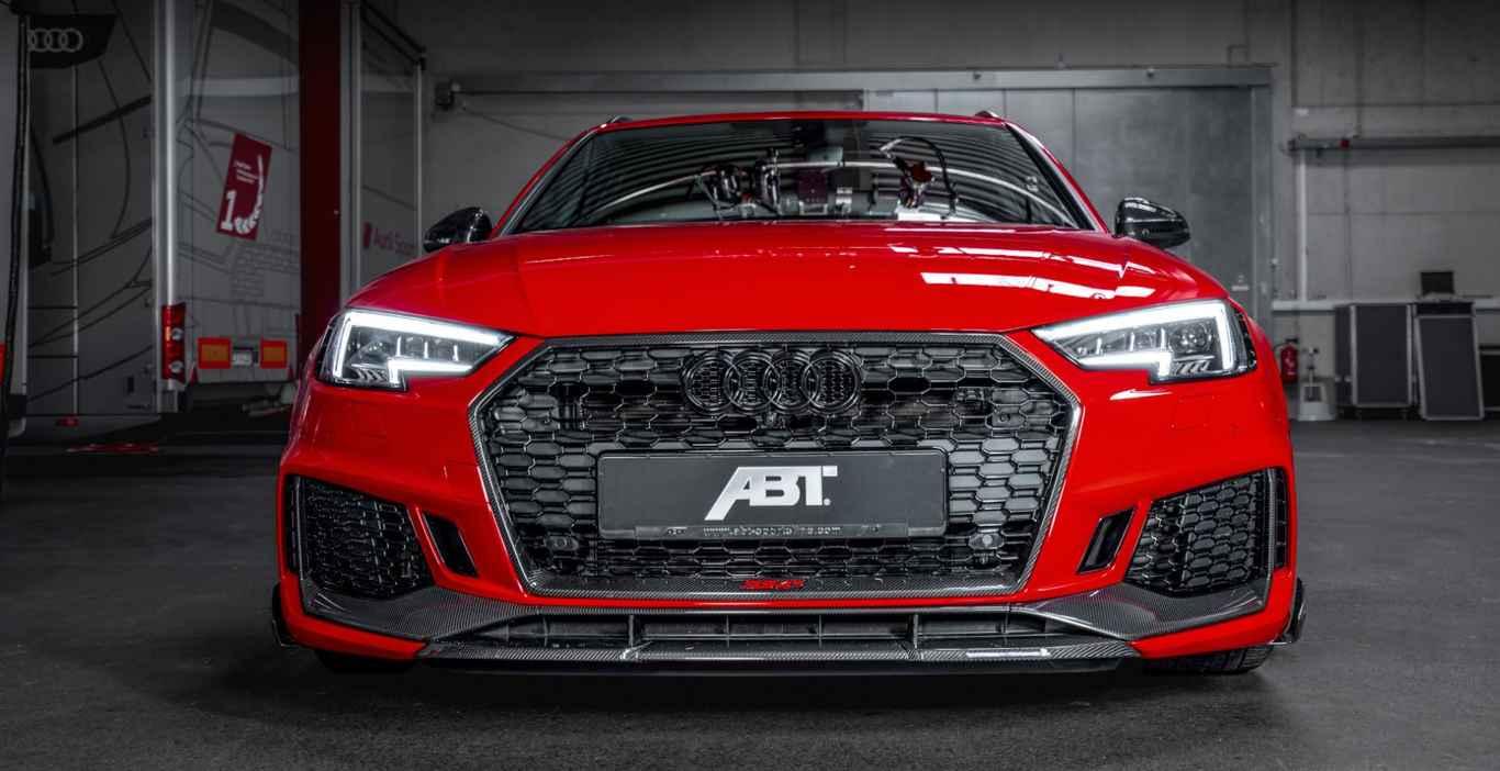 ТОП 10 суперкаров Женевского автосалона  Машина ABT RS4+