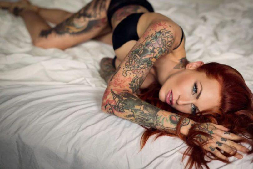 Как правильно наносить тату и где её лучше сделать
