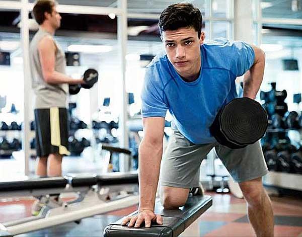 Тренировка в тренажерном зале типы людей