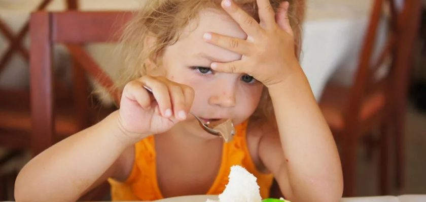 как мы заставляем детей переедать